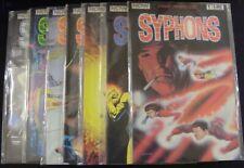 SYPHONS 1-7 NOW COMIC SET COMPLETE CURTIS LANE MILLER CAPUTO MORRISON 1986 FN+