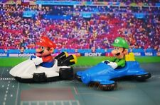 NINTENDO SUPER MARIO BROS BROTHERS RACING CAKE + Lugi Set 2 TOPPER FIGURE MODELS