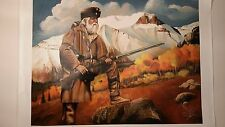 MOUNTAIN MAN, XLarge Giclee on Canvas, Trapper with Hawken Rifle, Bob Erwin