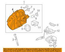 JAGUAR OEM 97-06 XK8 Headlamp Lens Left Driver's Side W H/L Washers LJA4651BA