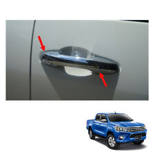 4 Doors Handle Cover Chrome Trim To Toyota Hilux Revo SR5 M70 UTE 2015 16 2017