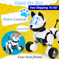 Intelligent Electronic Robot Dog Voice Control Dance Walking Kids Pet Toy