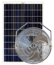 Solar Hang Fan with 100 Watt Solar Panel - Western Harmonics Kit# 2051-AG