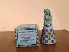 Avon Belles Of The World Scottish Lass Decanter With Sweet Honesty 1975