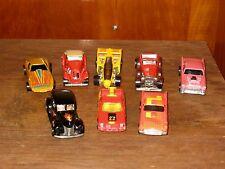 Vintage Hot Wheels Cars 1975-1987 Doozie,T-Bird,Dodge Rampade,Corvette,Mercedes