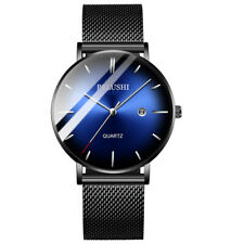Men's Waterproof Dress Sport Date Analog Quartz Wrist Watch Business Watches B-1