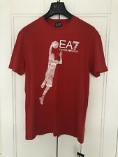 Armani EA7 Men's Basketball T Shirt Size XL Pit To Pit 21.5 Inches