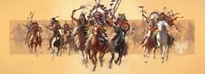 """Beyond Negotiations"" Bev Doolittle Western Indian Masterwork Giclee Canvas"