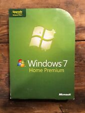 Microsoft Windows 7 Home Premium, Upgrade Edition for XP or Vista users (PC)