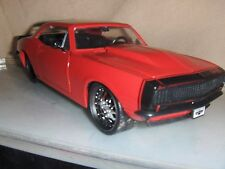 Toy Jada Dub 1:24 Red 1967 Chevy Camaro Car show Hot Rod