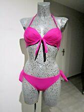 Maillot de Bain fluo taille XS S 34 36 bikini Rembourré 2 Pièce Push-up NEUF