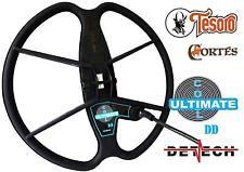 "DETECH 13"" Ultimate DD Search Coil For Tesoro Cortes Metal Detector & Coil Cover"