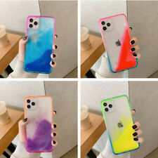 For iPhone 11 Pro Max XS XR X 8 7 Glow Luminous Quicksand Shockproof Case Cover