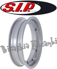 5963 - CERCHIO TUBELESS SIP ARGENTO 2.10 X 10 VESPA 125 GT GTR - 150 GL SPRINT