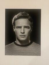 Philippe Halsman Original Silver Gelatin Photograph Marlon Brando Signed