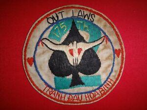 Vietnam War Hand Made Patch US 2nd Flight Platoon 175th Aviation Company
