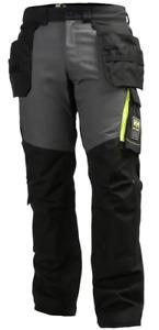 Mens Helly Hansen Aker Construction Work Multi-Pocket Trousers Waist 30 to 40
