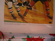 Print of The Great  BOOM BOOM GEOFFRION 1972 Great Moments In Canadian History