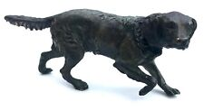 Antique Austrian Miniature Bronze Dog Spaniel Hunting Dog The Style Of Bergman