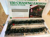 Vintage 1989 Holiday Classics 150 Christmas Indoor Outdoor Chasing Lights 🌲🌲