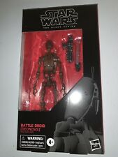 """Battle Droid Geonosis Star Wars The Black Series 6"""" Action Figure - IN STOCK!"""