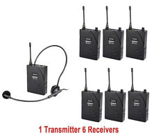 UHF-938 Audio-tour Wireless Tour Guide System Audio Voice System Teaching train