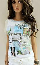 MARCCAIN Maglietta Donna Misto seta N3 N4 38 40 M L lana bianco beige
