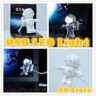 LED USB Light Bedroom Lamp Astronaut Gadget Adjustable Tube Desktop Laptop PC
