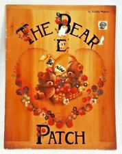 "1980s ""The Bear 'E' Patch"" Decorative Tole Painting Pattern Book 20 Designs 6316"