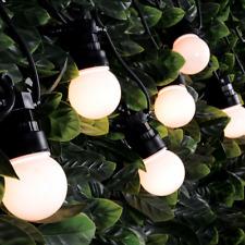 LYYT Outdoor LED Festoon String Light Warm White 10M Festival Christmas Linkable
