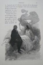 STELLO ALFRED DE VIGNY 1901 VELIN NUMEROTE GRAVURES SCOTT DETE