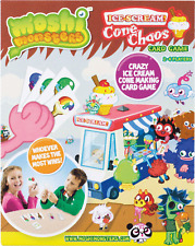 Moshi Monsters Ice Scream CONO caos CARD GAME NUOVO CON SCATOLA 78631