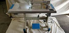 Juki Ddl-8700 Sewing Machine With T-Legs Stand ,Casters,Servo Motor Led Lamp