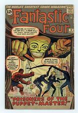 Fantastic Four #8 VG 4.0 1962