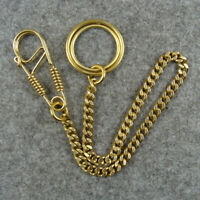 Solid Brass  Fob Pants Keychains Keyrings Key Holder Bag Wallet Chain Key Chains