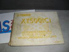 Yamaha XT 500 (C) Werkstatthandbuch Handbuch ServiceManual Reparaturanleitung