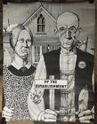 American Gothic Original Vintage Poster Up The Establishment Gordon 1960's Pinup