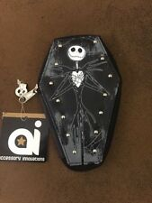 Disney Nightmare Before Christmas Jack Skellington Coffin Purse Wallet Skeleton