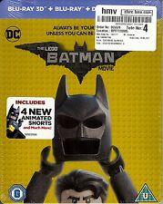 The LEGO Batman Movie HMV Exclusive Edition SteelBook (Region Free UK Import)