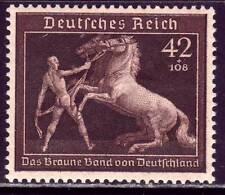 THIRD REICH Mi. #699 mint Braunes Band Horse Race stamp! CV $24.00