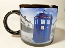 Doctor Who's Disappearing Tardis Mug Cup Hot Coffee Tea Large Ceramic 12 Ounces