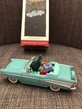 Vintage Hallmark 1957 Chevrolet Bel Air Christmas Ornament in Original Box