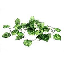 Leaves Plastic Reptile Artificial Fruit Plants Vines Landscaping Ornament