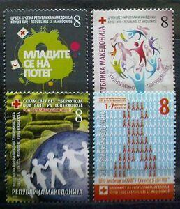 Macedonia 2012 Charity stamps MNH