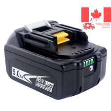 High Capacity 18V 5 0Ah 90Wh Replacement Li-ion Battery for Makita BL1850 BL1...