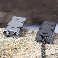 150DB Stainless Steel Whistle Lifesaving Emergency SOS Outdoor Survival Tool New