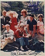 Gilligan's Island Cast Signed 8x10 Autographed Photo Reprint
