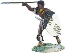 Britains Soldato ZULU GUERRA ZULU WARRIOR gettare SPEAR NO 1 wb20140 METALLO VERNICIATO