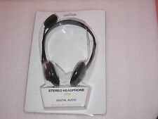 New OEM Dell Black Headphones Headset with Microphones - WC527