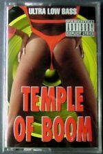 Temple Of Boom:  Ultra Low Base (Cassette, 1994, Velvet Dwarf Records) NEW